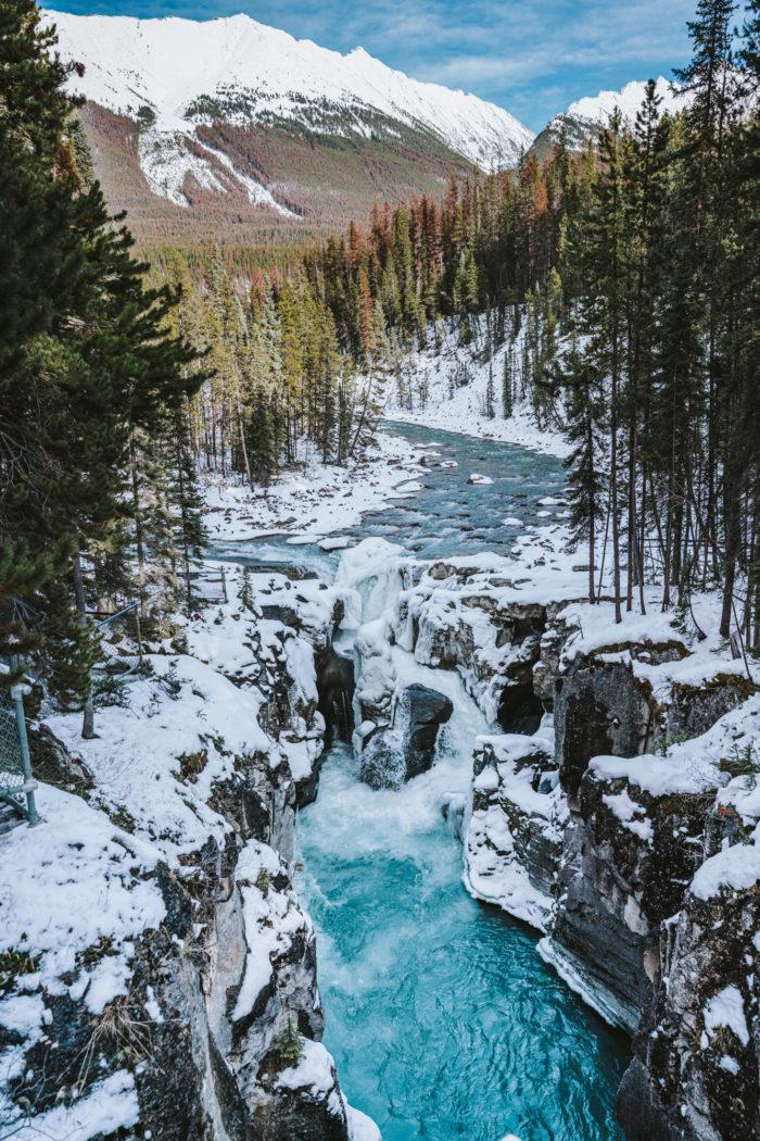 Sunwapta Falls, Canadian Icefield Parkway