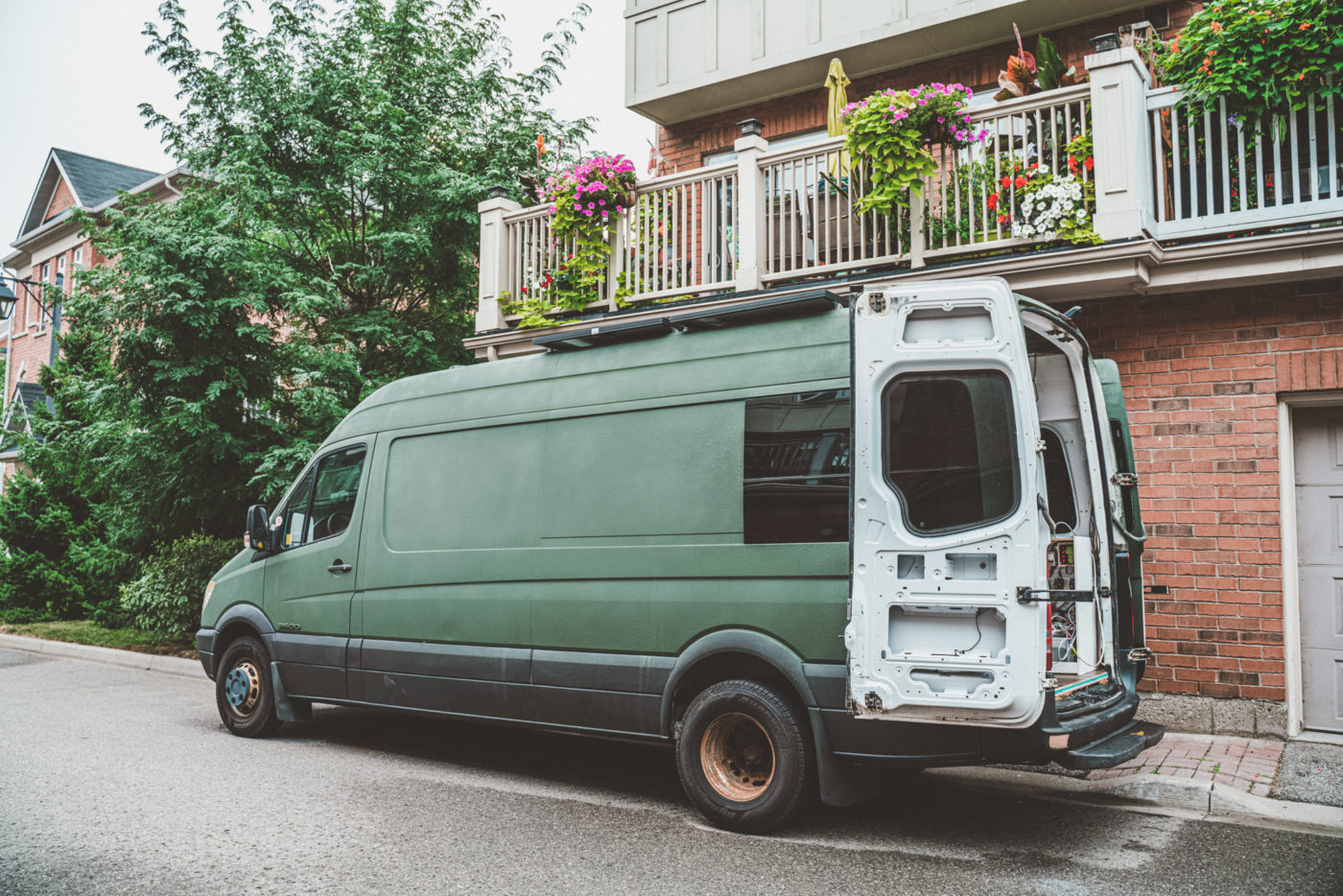 best van for camper conversion