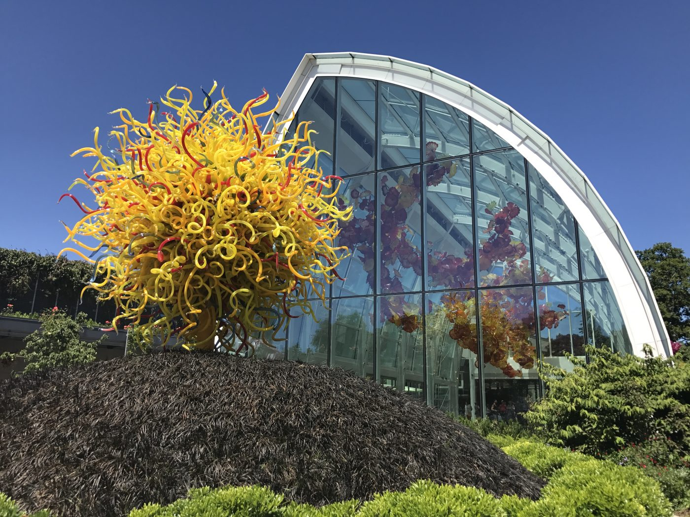 Best US Cities: Chihuly Glass Museum Seattle