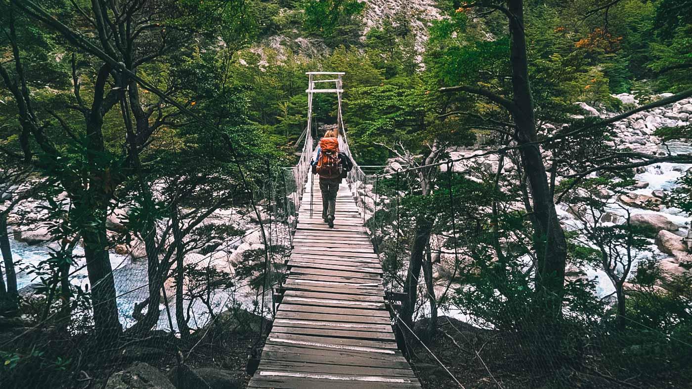 Torres del Paine W Trek, puerto natales chile