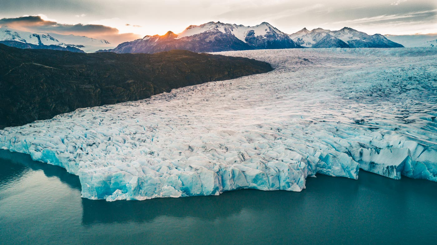 Glacier Grey, Torres del Paine National Park, Patagonia, Chile