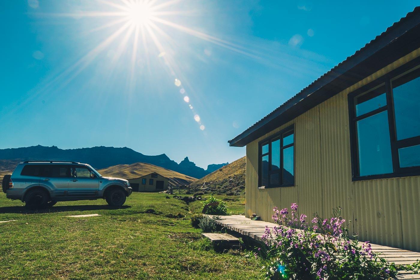 Baguales Estancia. Puerto Natales. Patagonia, Chile