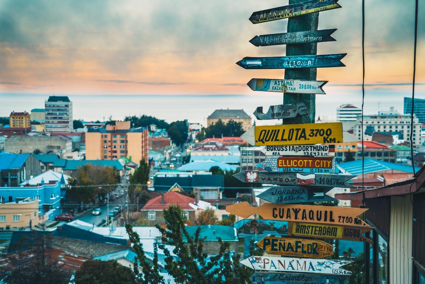 how to tour Punta Arenas, Chile