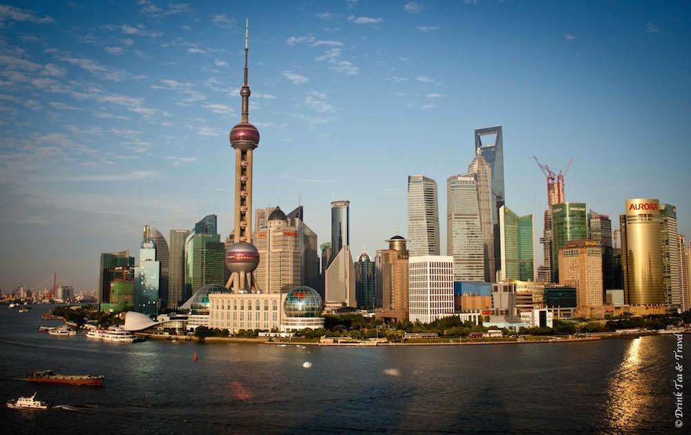 View from the Bund, Shanghai, China
