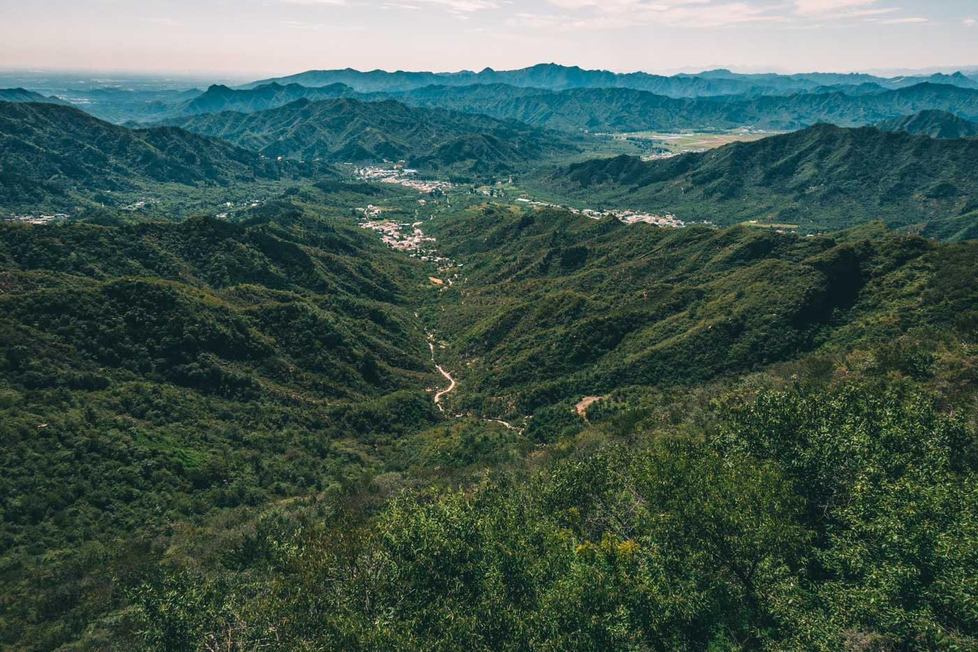 Beautiful places in China: Vast lands in China