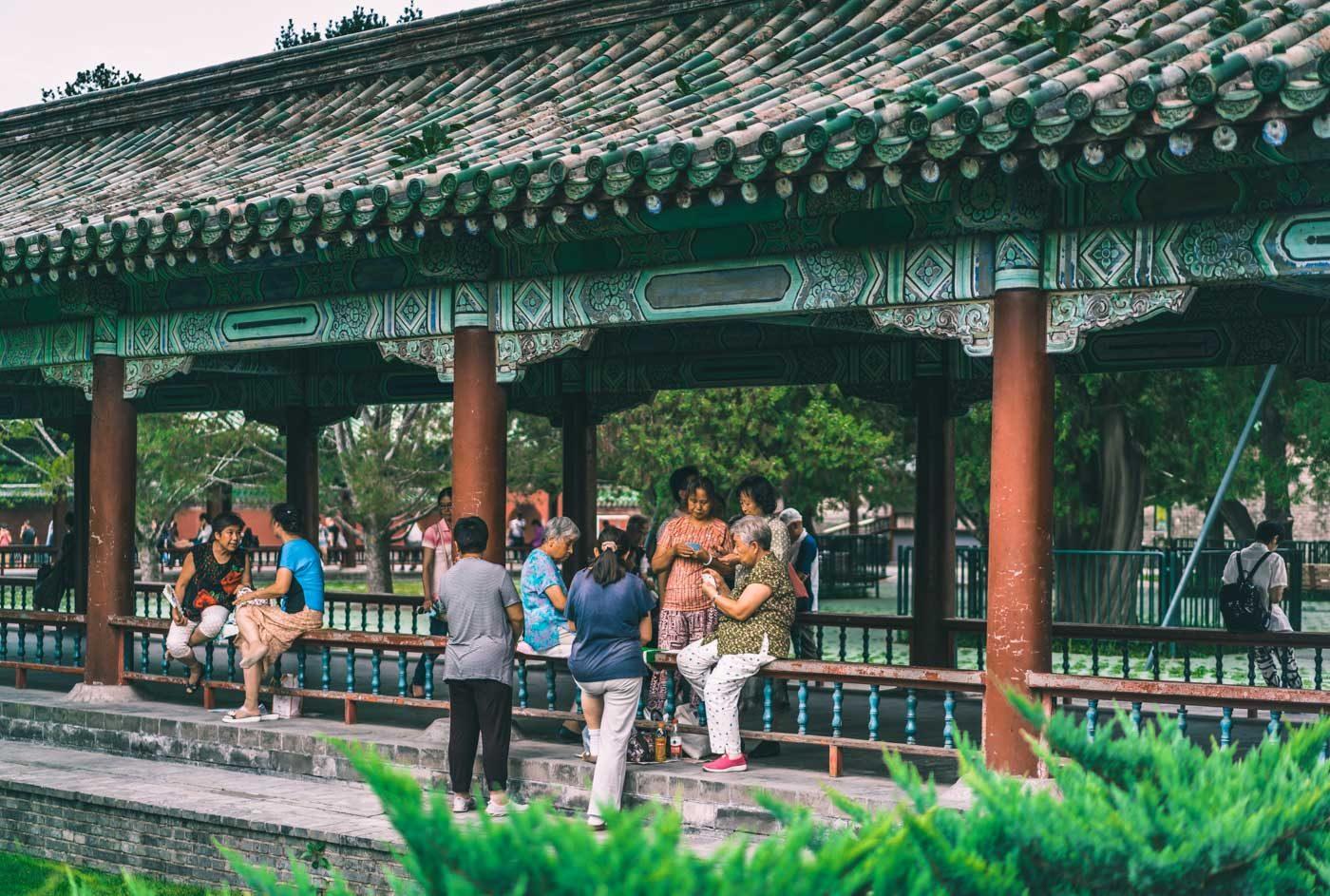 Temple of Heaven Park, Beijing