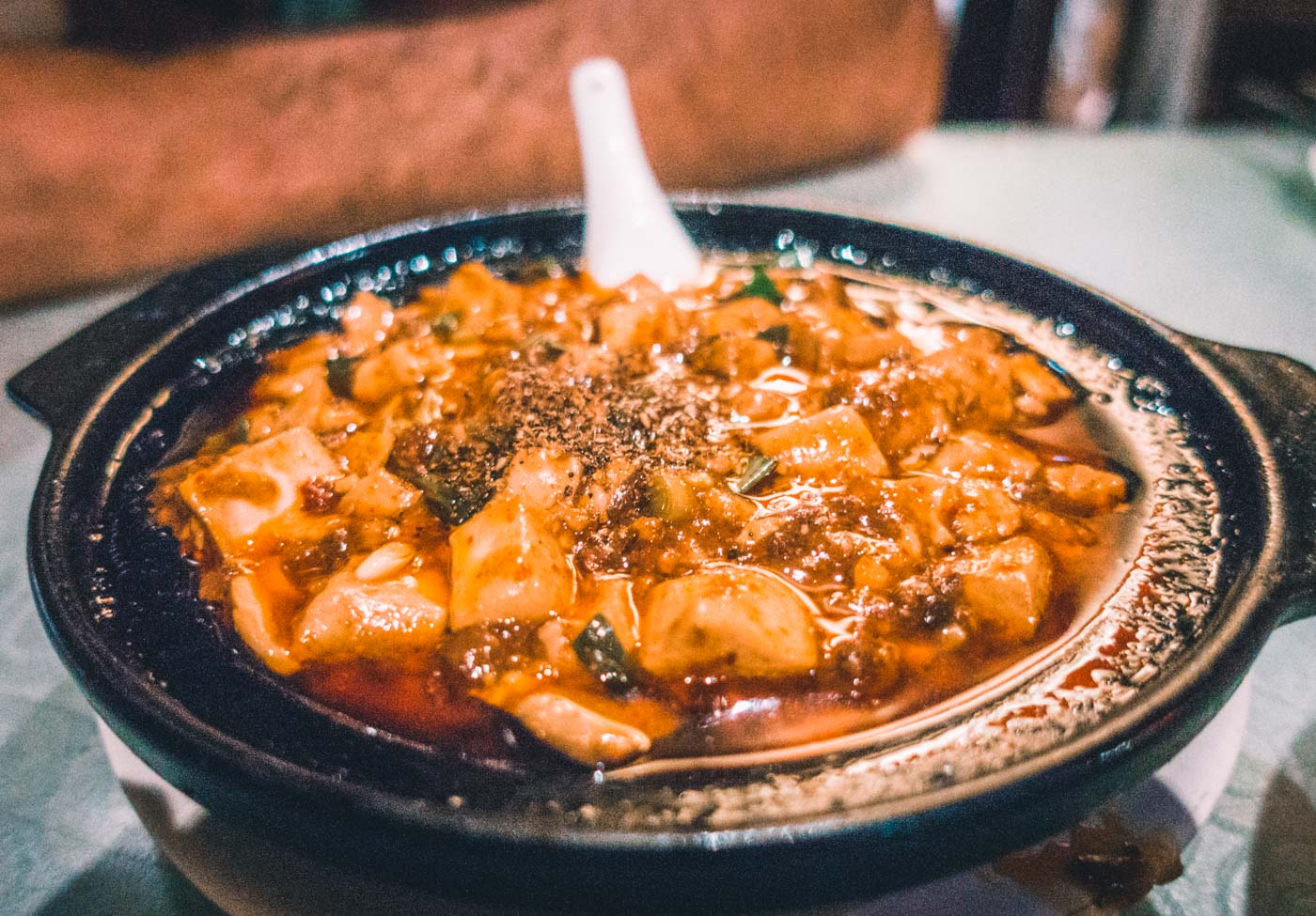 Mapu Doufu (Mapo Tofu), one of Sichuan's best local dish