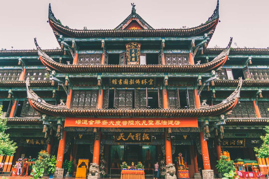 Wenshu Temple, Chengdu, China