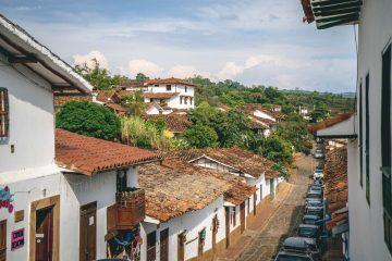 El Camino Real from Barichara to Guane, Santander, Colombia