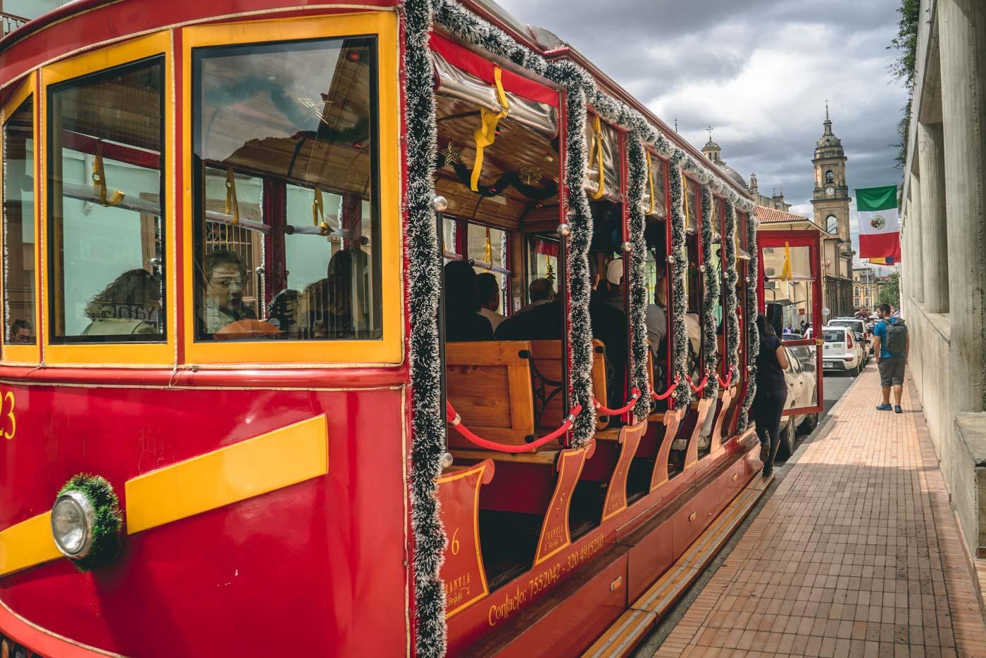Travel in Colombia: Public transport in Bogota
