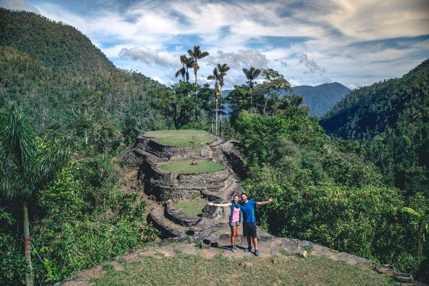 At the Lost City (Ciudad Perdida) in Colombia