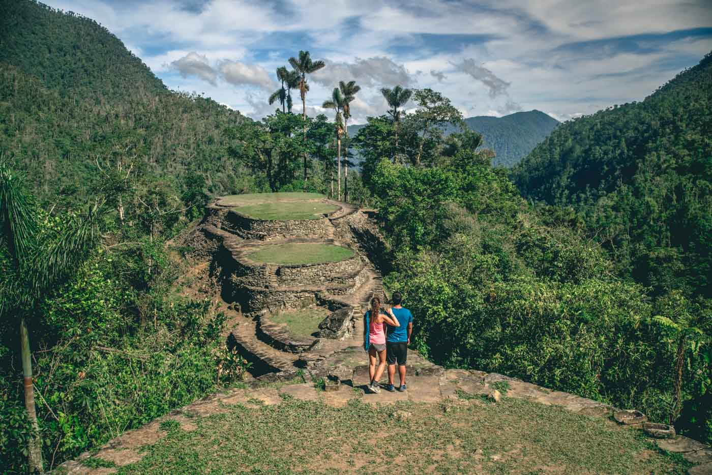 Travel in Colombia. Lost City, Santa Marta, Colombia
