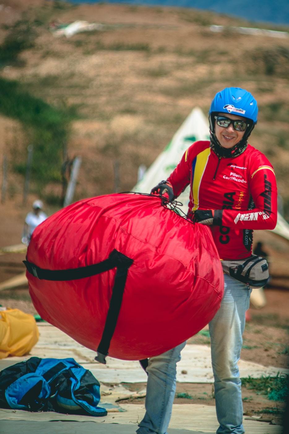 paragliding san gil