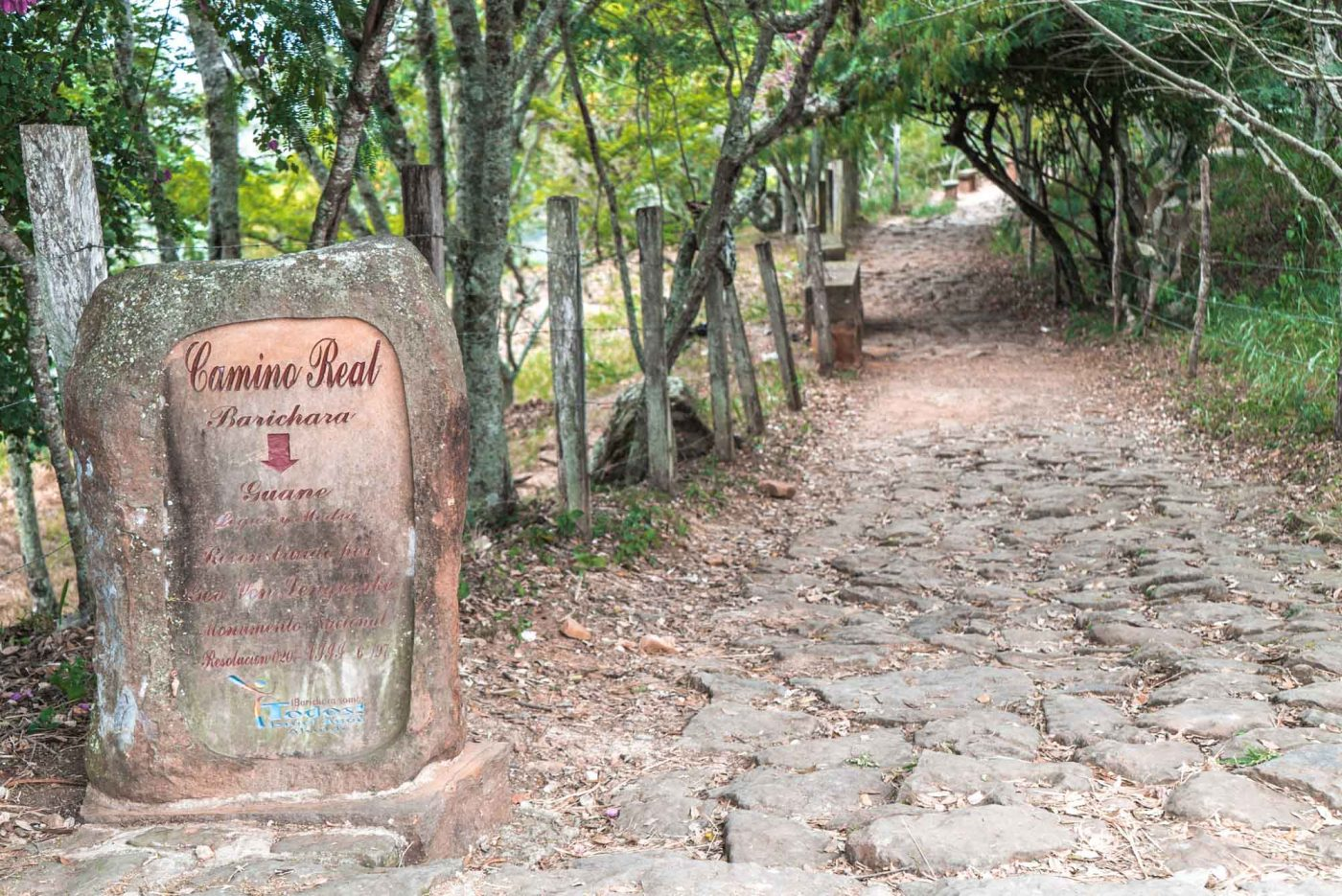 Camino Real trail, Barichara to Guane. San Gil, Colombia