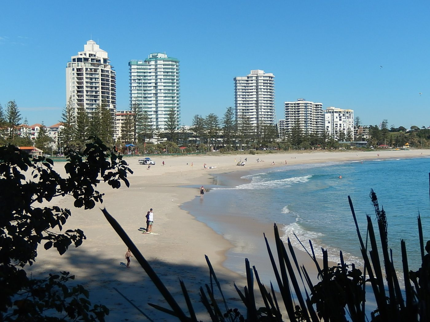 beach beaches Gold Coast, Coolangatta