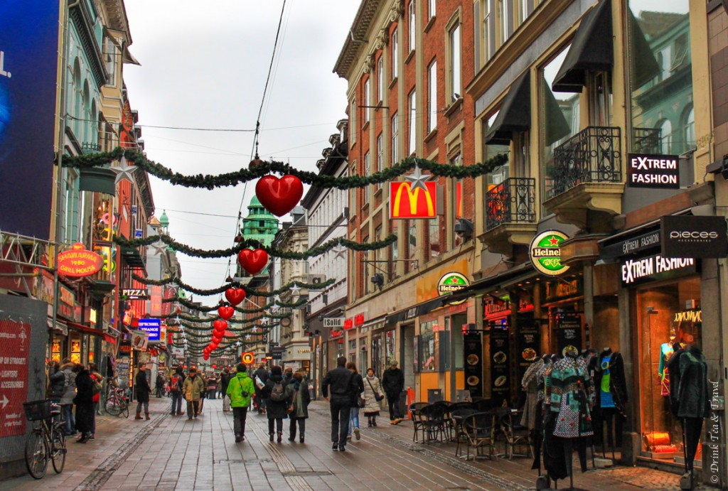 Shopping along Strøget