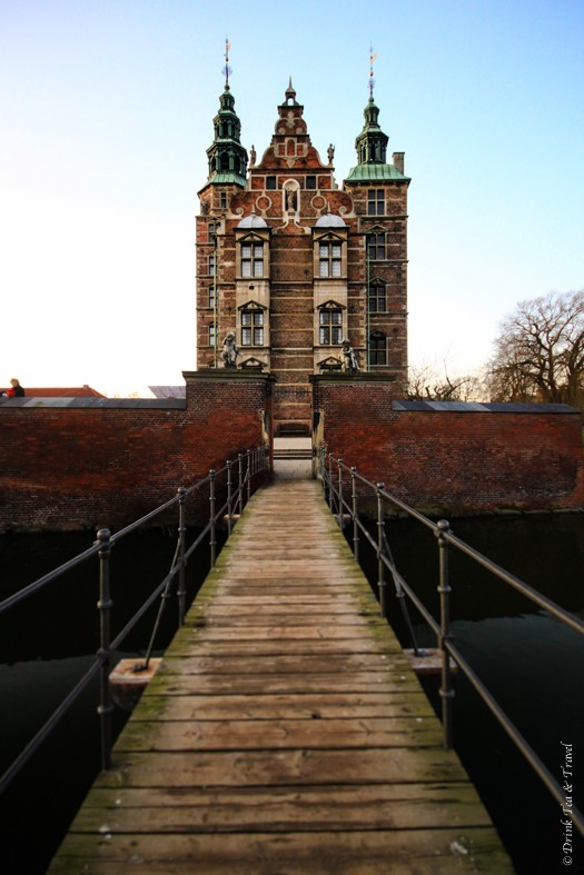 Bridge leading up to Rosenborg Palace