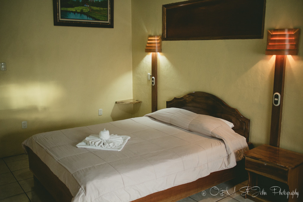Costa Rica Travel Budget: A basic but lovely room in Monteverde Rustic Lodge. 1-2 queen beds for just $70/night