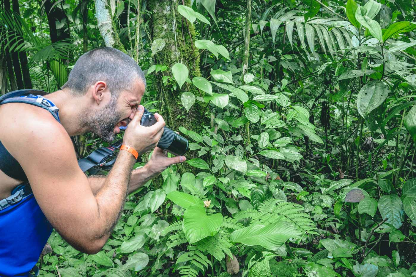 Arenal Volcano Costa Rica: max getting the shot