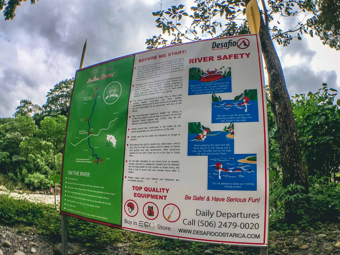 Arenal Costa Rica: Arenal Volcano River Safety