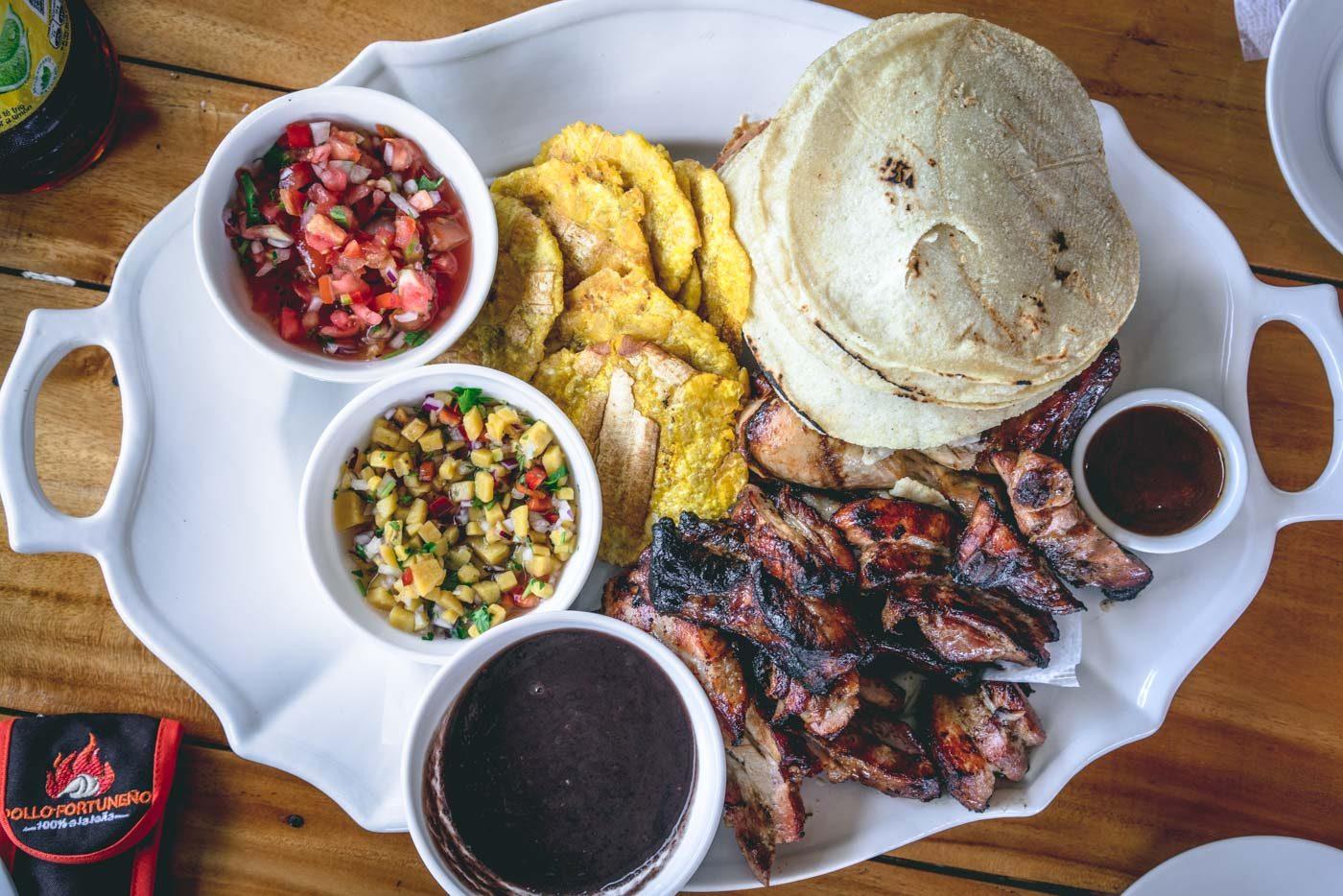 Costa Rica honeymoon, tico food