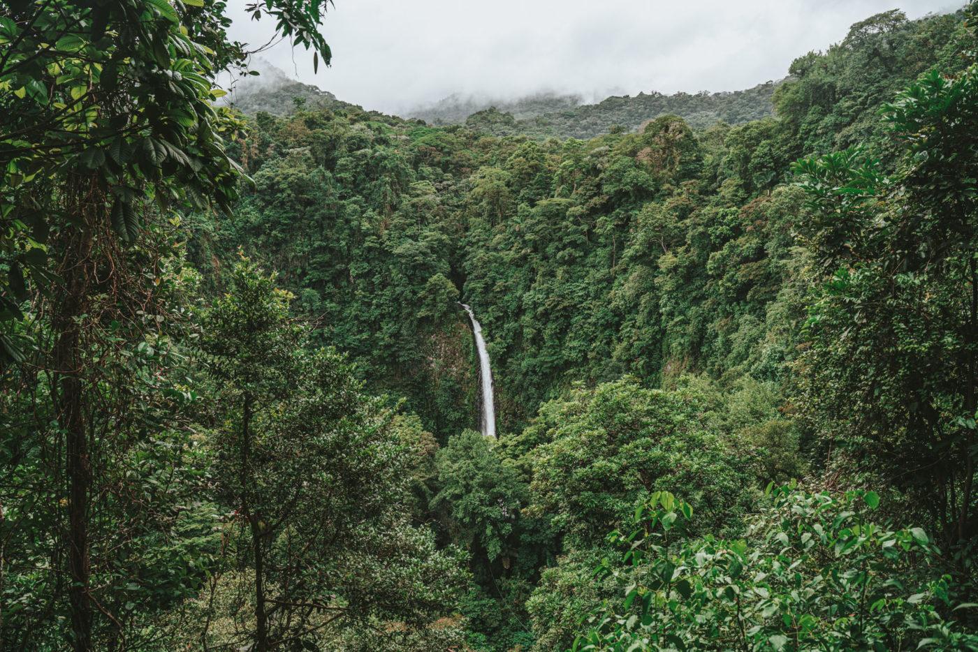 La Fortuna Costa Rica Waterfall