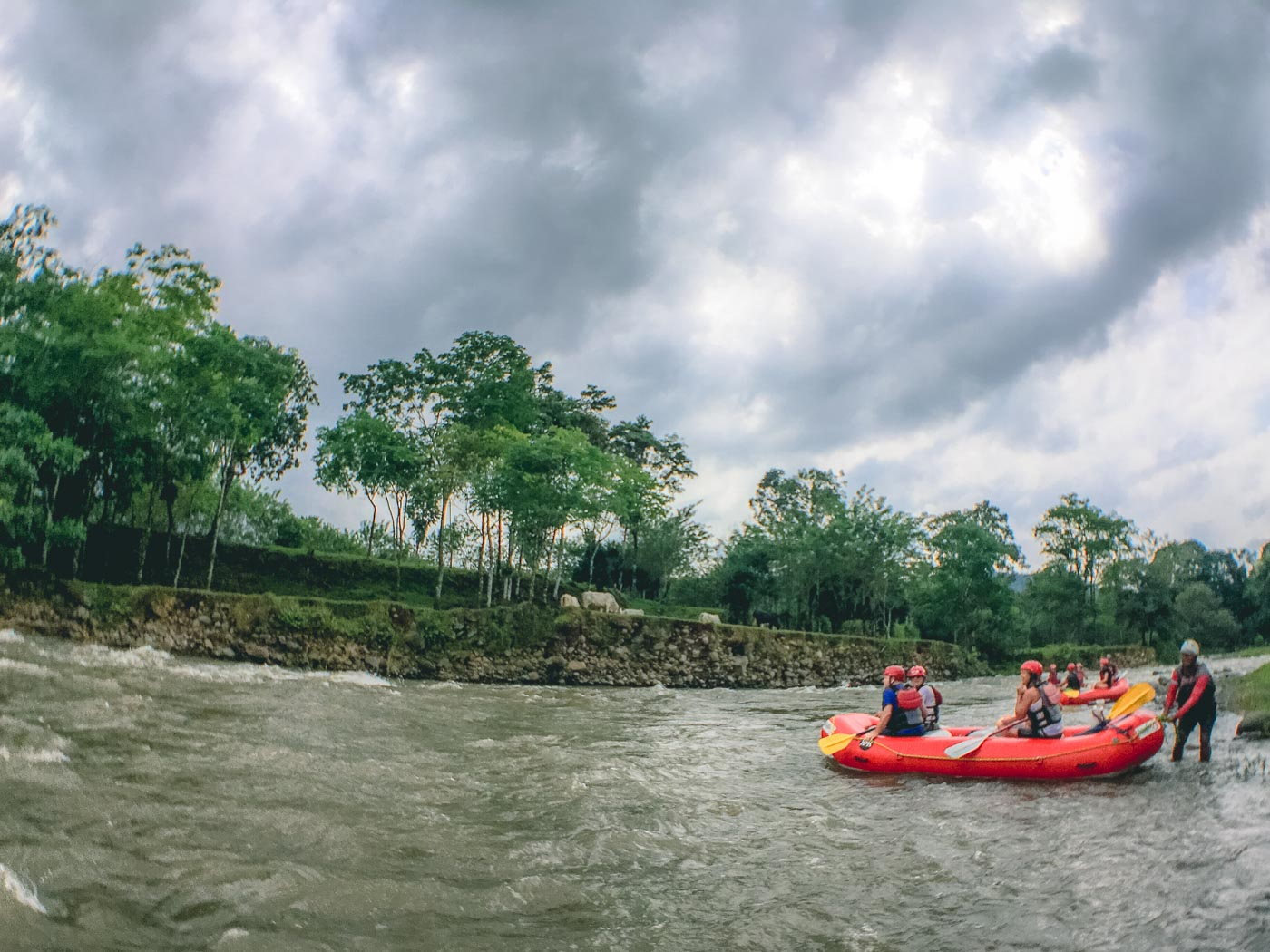 Costa Rica Itinerary: Arenal rafting