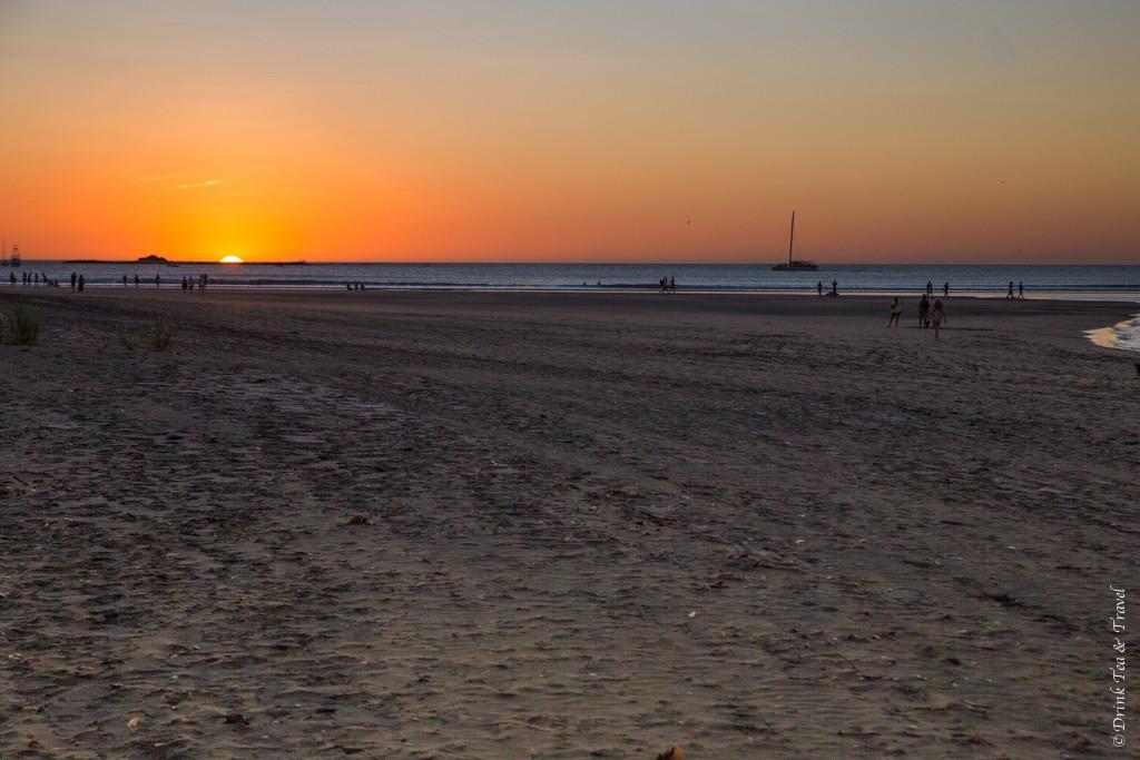 Sunset in Playa Tamarindo. Guanacaste, Costa Rica