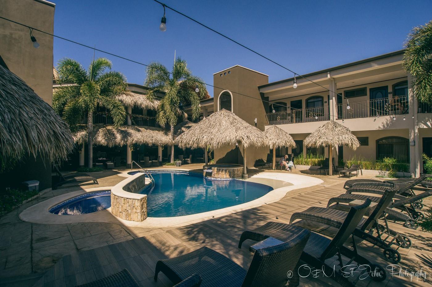 Hotel Colono Beach in Playa del Cocos. Guanacaste. Costa Rica