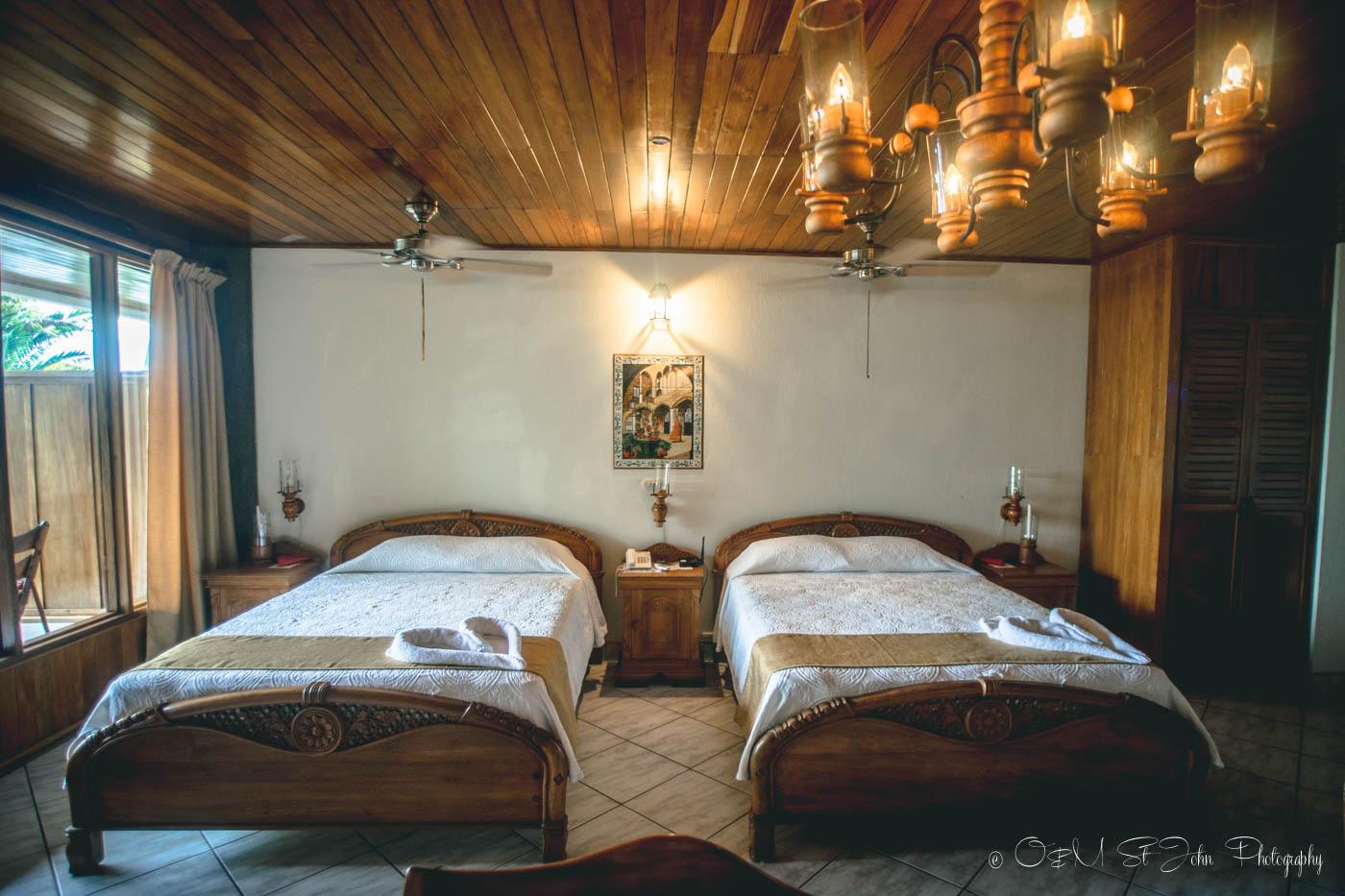A twin room at Costa Verde Costa Rica