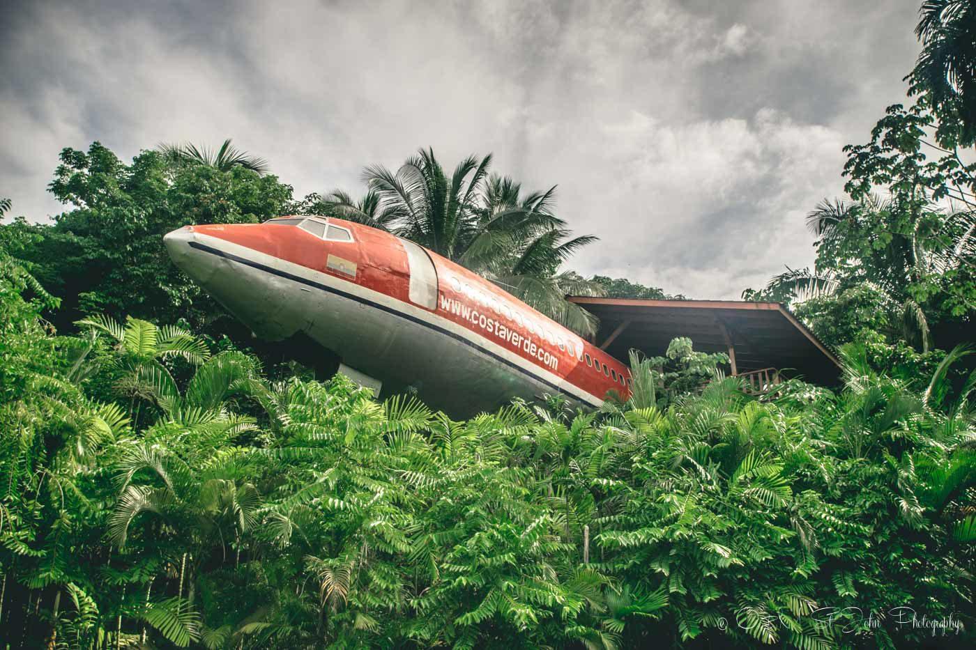 Costa Verde Hotel, 727 Fuselage Home