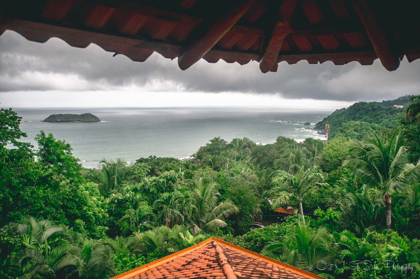 Costa Rica wedding: Views from Costa Verde Hotel