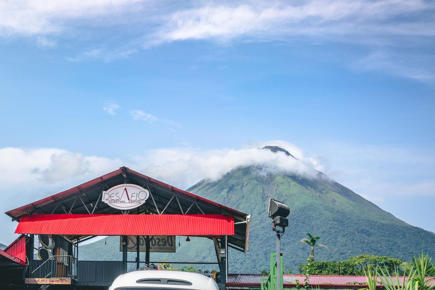 Arenal Costa Rica: Desafio Adventures office in La Fortuna
