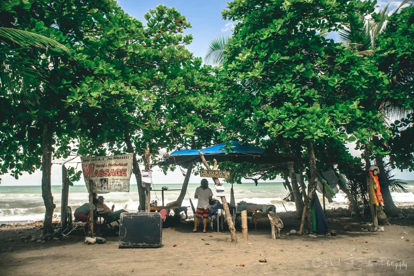Things to do in Dominical, Massage Parlour