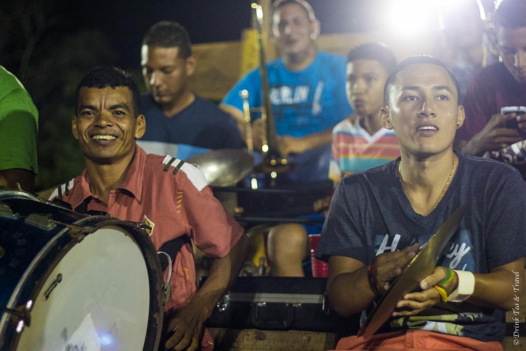 Mariachi band at the Fiesta.