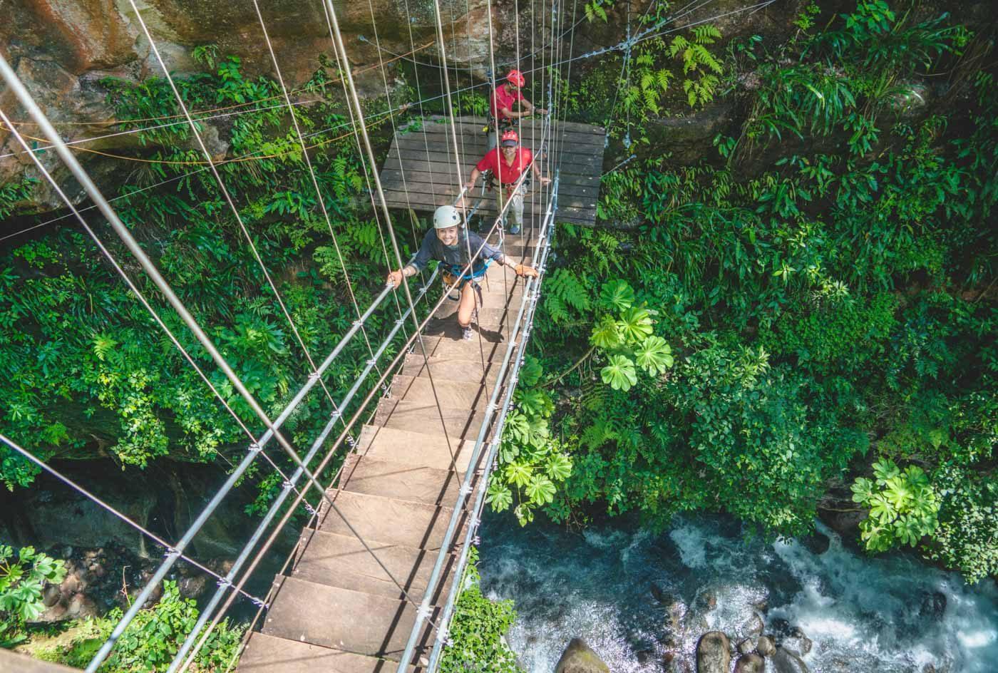 Costa Rica Guachipelin ziplining Oksana-3228