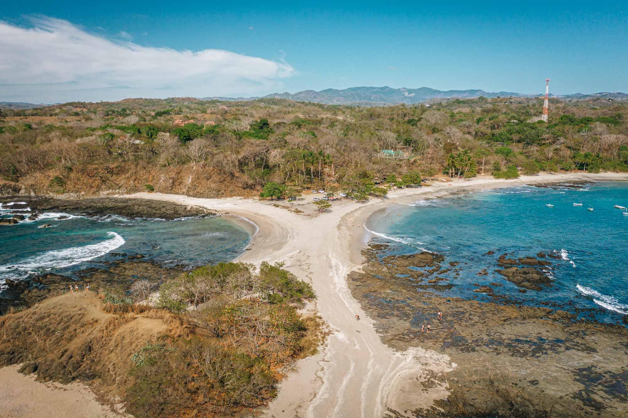 San Juanillo beach, Guanacaste, Costa Rica
