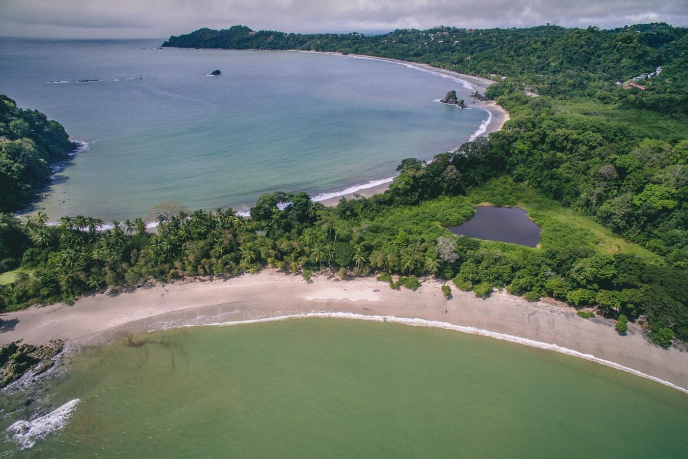 Manuel Antonio National Park from the air