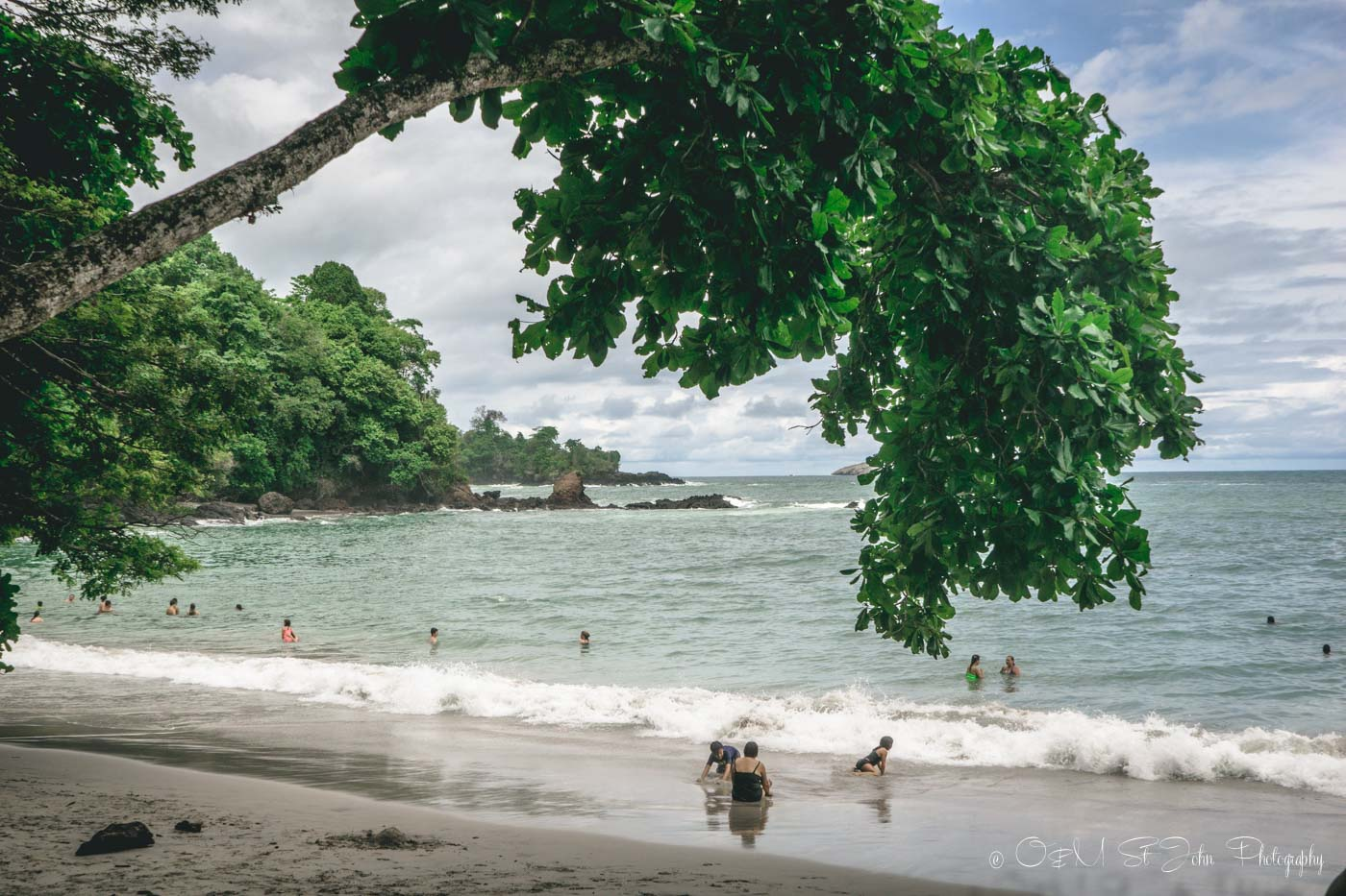 Manuel Antonio National Park: Manuel Antonio Beach is a great spot if you are looking to relax and spend a few hours inside the park. Costa Rica
