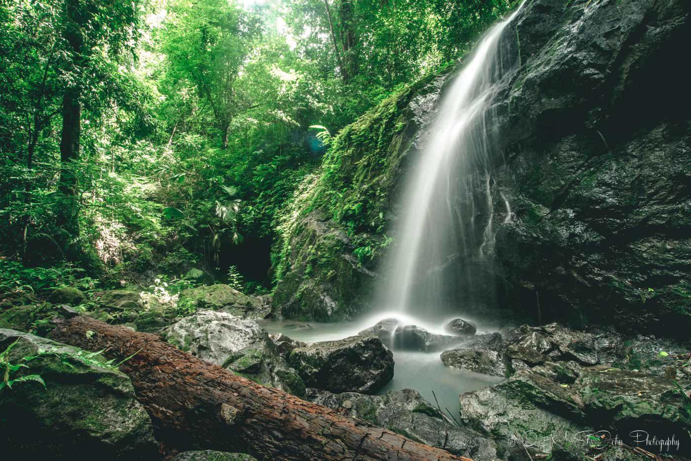 Manuel Antonio National Park: Gorgeous waterfall at Manuel Antonio National Park