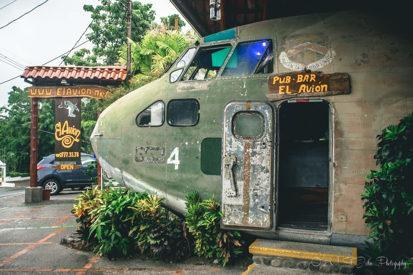 Manuel Antonio National Park: El Avion Restaurant, Manuel Antonio, Costa Rica