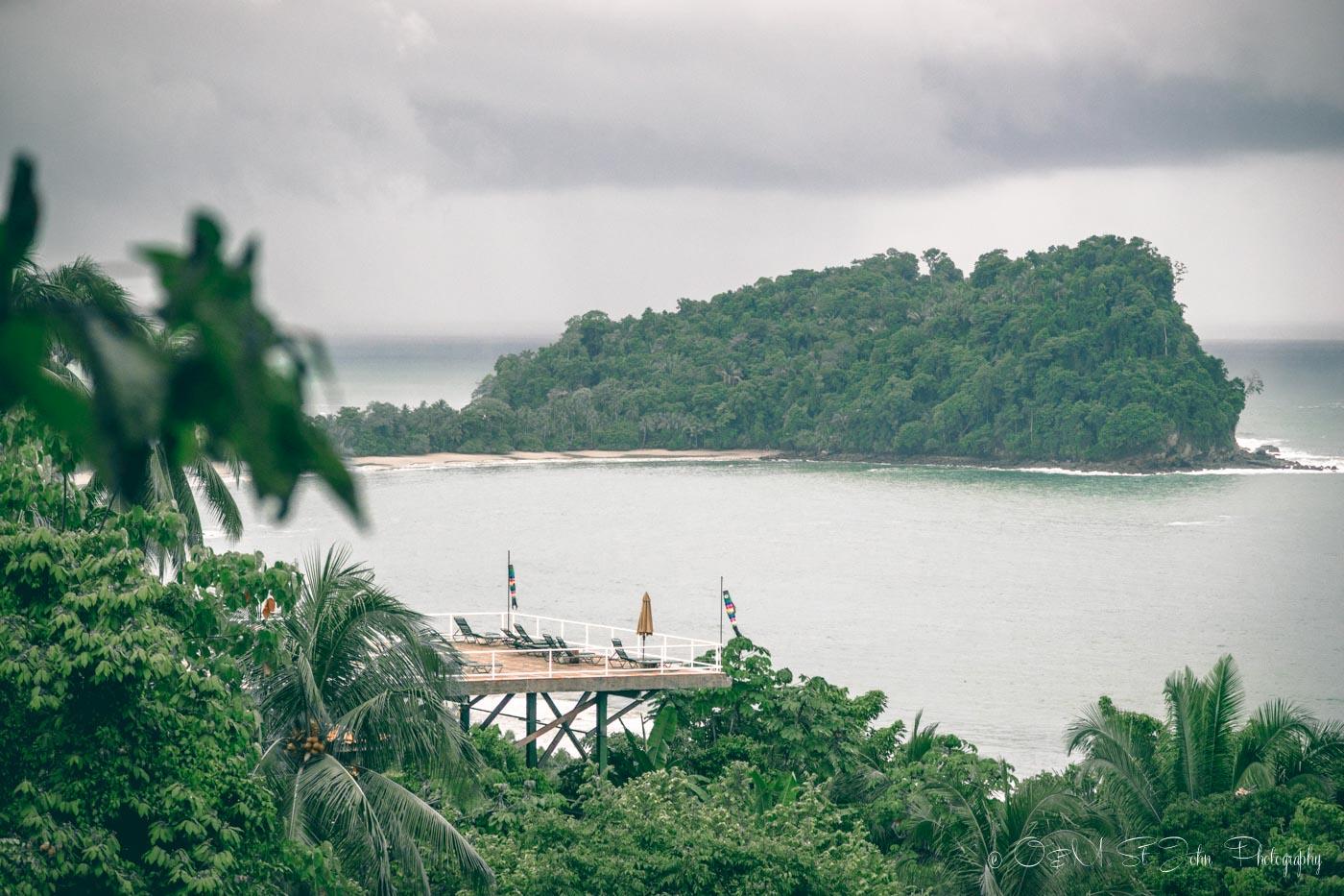 Manuel Antonio National Park, view from Costa Verde Hotel. Costa Rica
