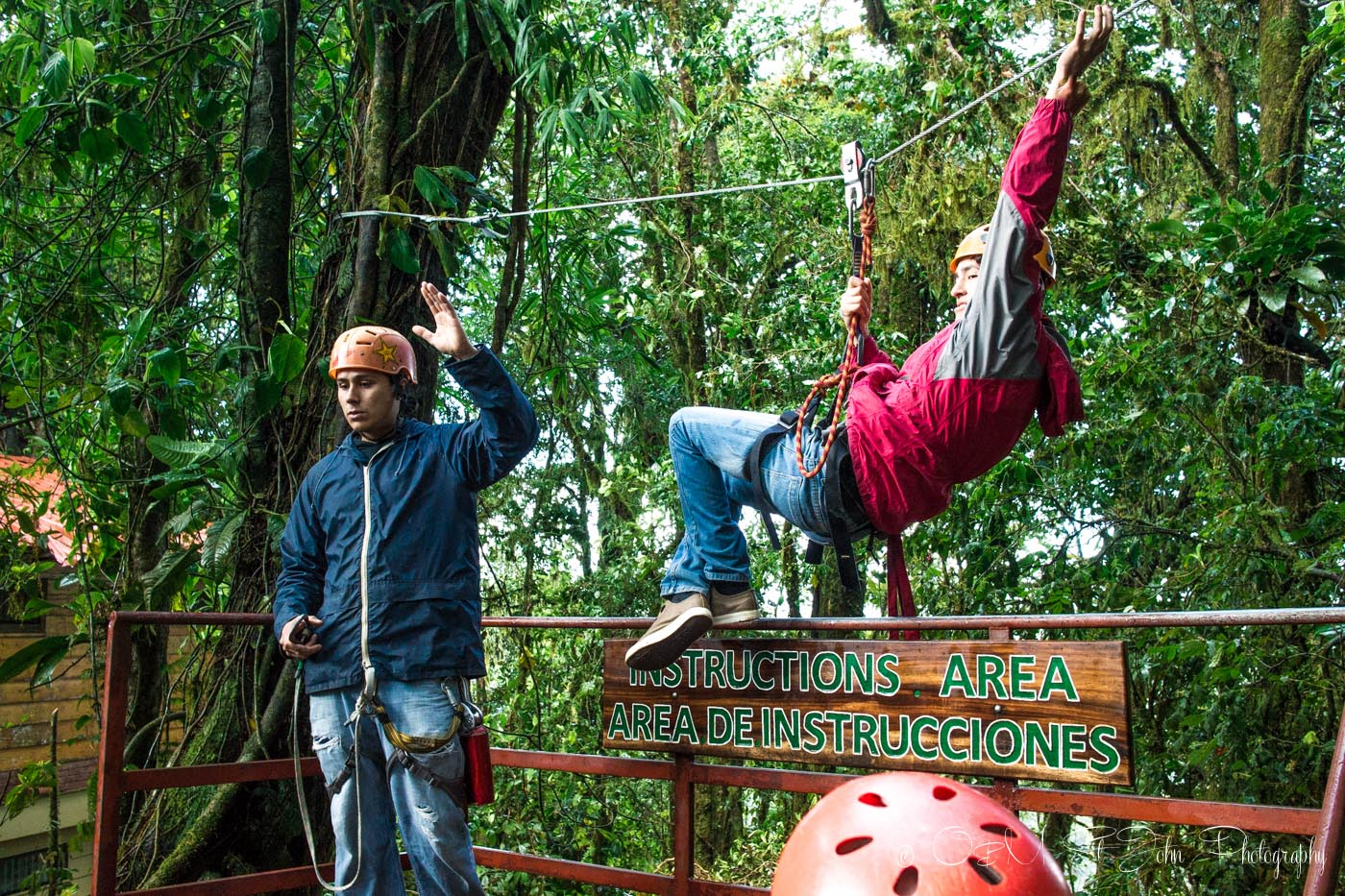 Costa Rica Itinerary: Monteverde zipline