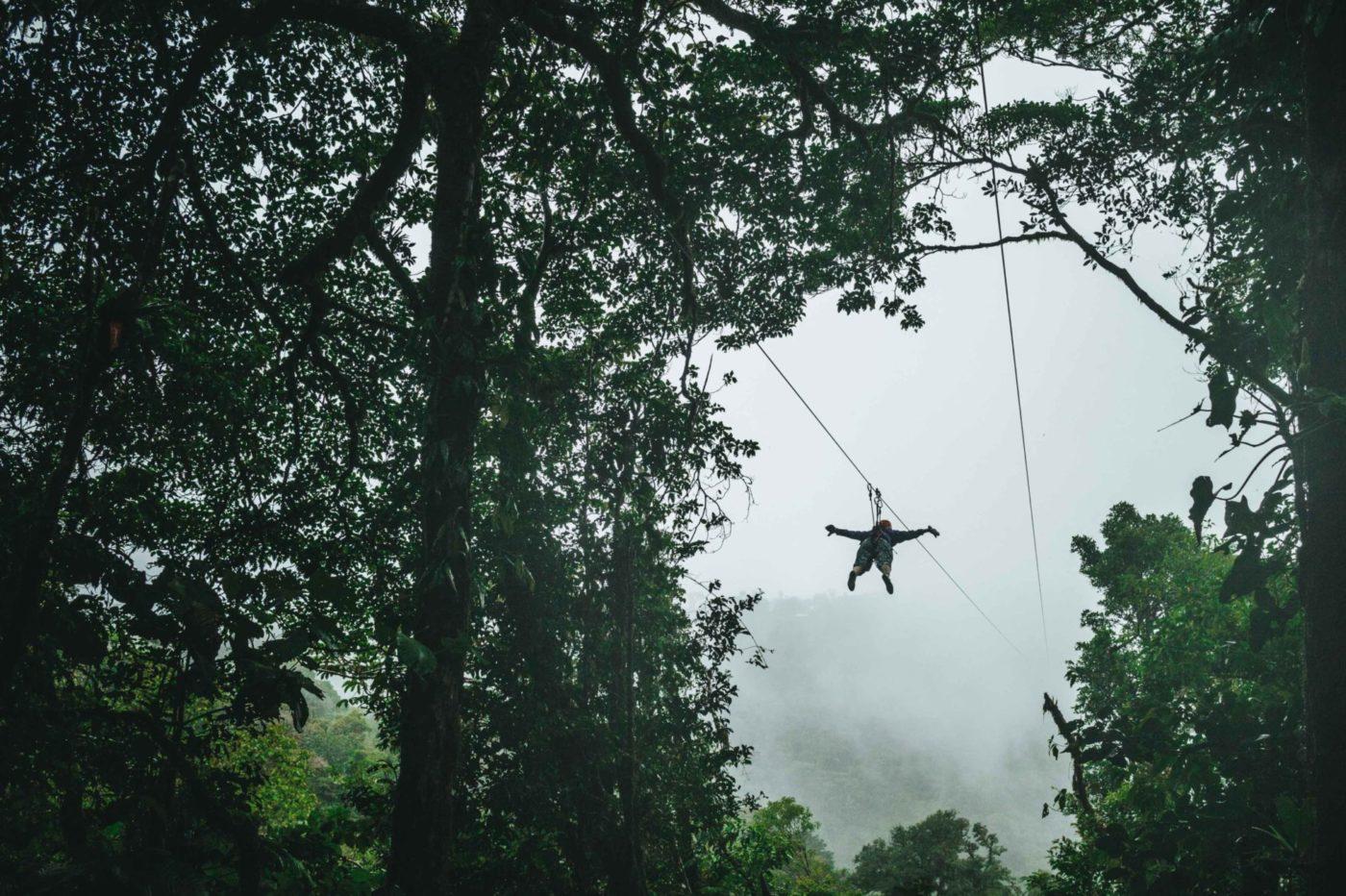 Costa Rica Monteverde ziplining-4345