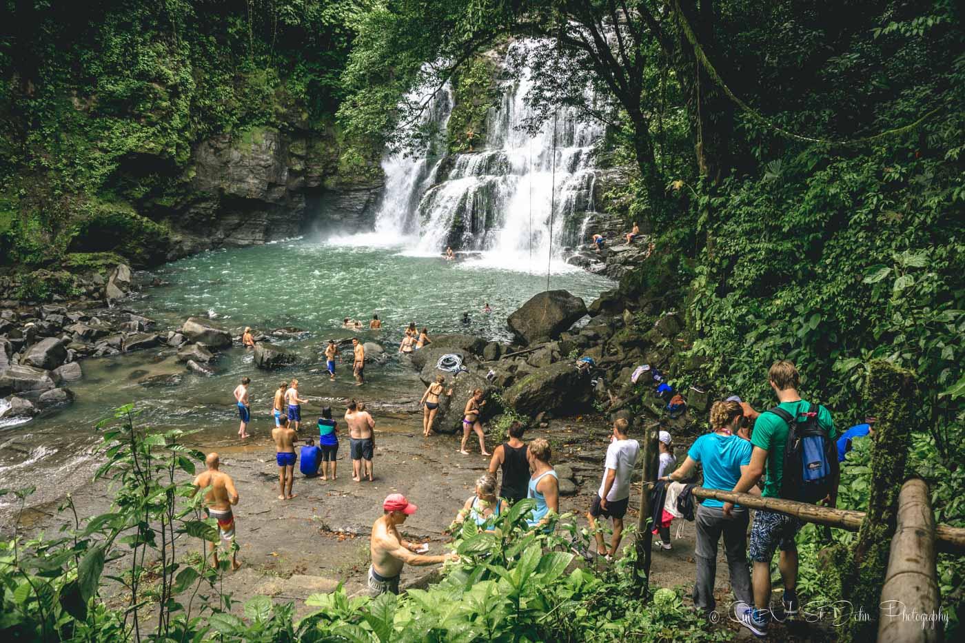 Costa Rica Nauyaca Waterfalls-1746