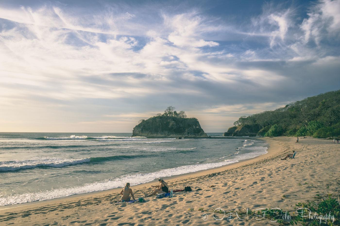 Best beaches in Guanacaste, Playa Pelada. Nosara. Costa Rica