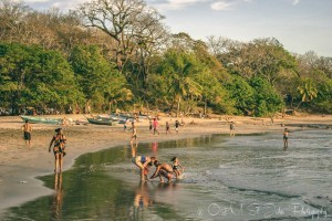 Locals at Playa Pelada. Nosara. Costa Rica