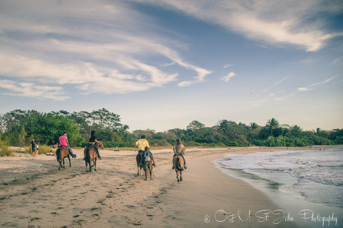 Costa rica itinerary: horseback riding nosara
