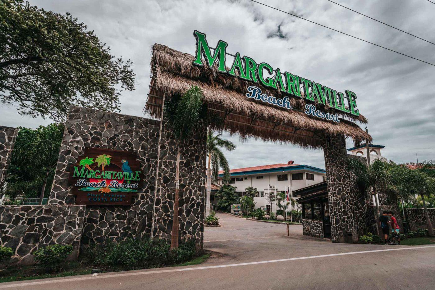 Margaritaville resort in Playa Flamingo, Costa Rica