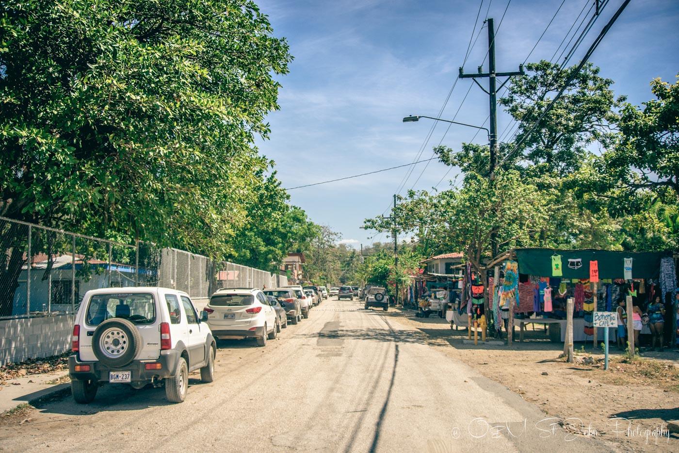 Samara Costa Rica: Street in Sámara, Guanacaste. Costa Rica